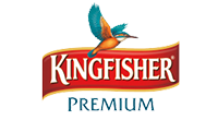 LED glow sign board for Kingfisher - signage boards near me
